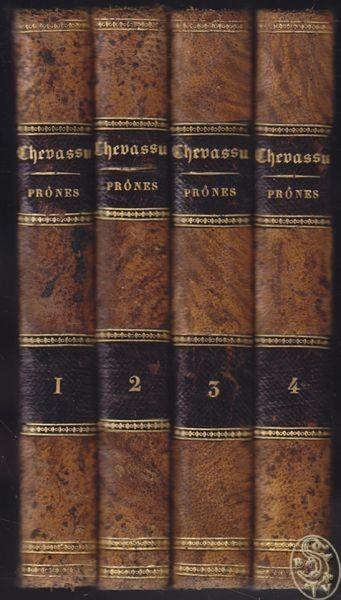 CHEVASSU, Prones pour tous les dimanches de... 1804