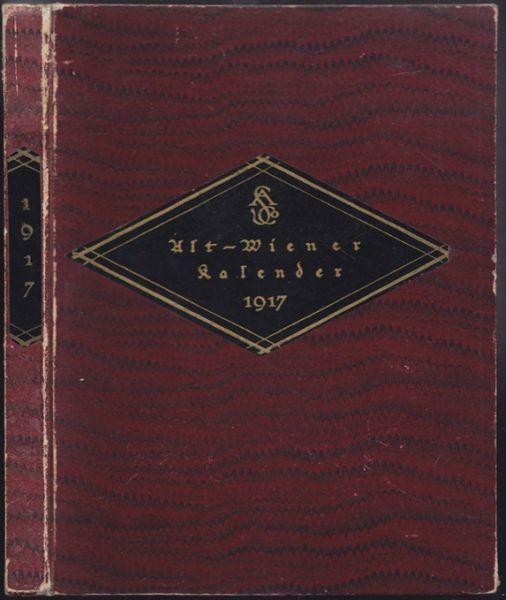 TROST, Altwiener Kalender für das Jahr 1917.