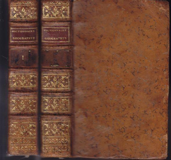 VOSGIEN i.e. J.- Bapt. LADVOCAT Trad., Dictionnaire... 1783