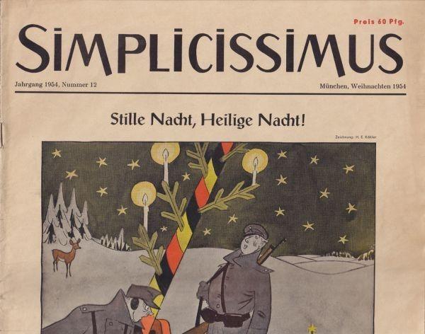 SIMPLICISSIMUS. Hrsg. Albert Langen.