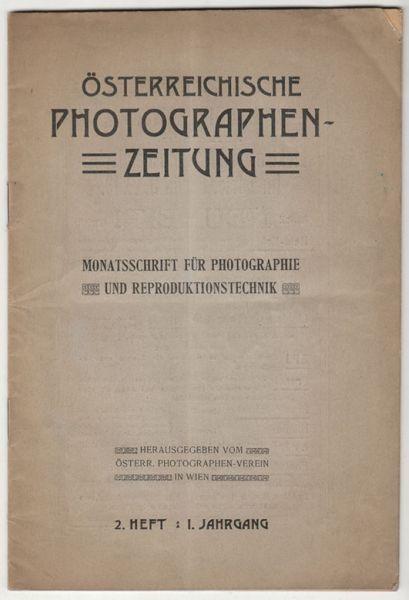Österreichische Photographen-Zeitung.... 1904