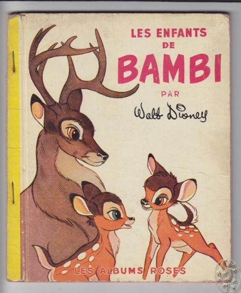 DISNEY, Les enfants de Bambi. 1952