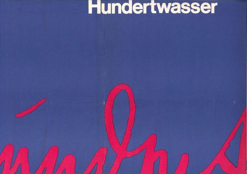 Hundertwasser - Museum des 20. Jahrhunderts. 20. Februar bis 28. März 1965. SCHM