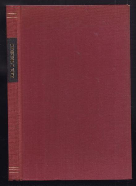 LIEBKNECHT, Briefe aus dem Felde, aus der... 1920
