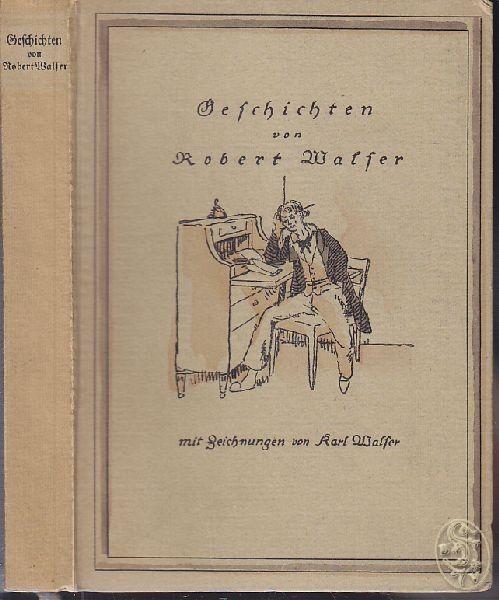 WALSER, Geschichten. 1914