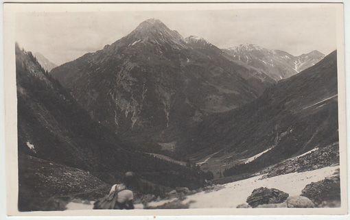 Blick gegen Polinik (Unter=Valentin). 1920