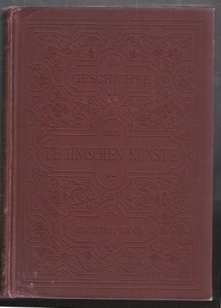 BUCHER, Geschichte der technischen Künste im... 1886
