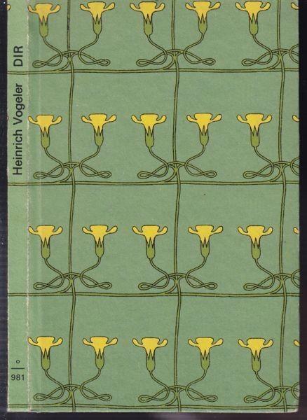 VOGELER, Dir. Gedichte. Mit einem Nachwort von... 1973