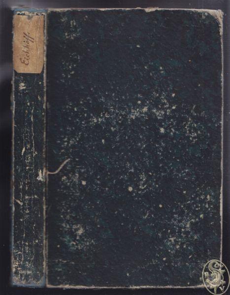 EICHHOFF, Vergleichung der Sprachen von Europa... 1840