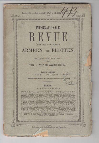 WITZLEBEN-WENDELSTEIN, Internationale Revue...
