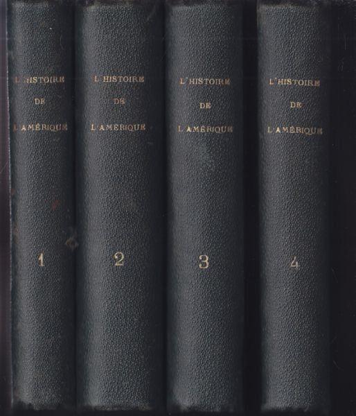 ROBERTSON, L'Histoire de l'Amérique. Traduite... 1780