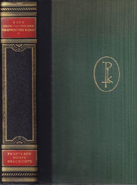 BOCK, Geschichte der graphischen Kunst von... 1930