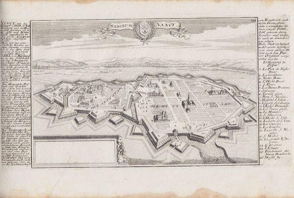 BODENEHR, Nanceum Nancy. 1725