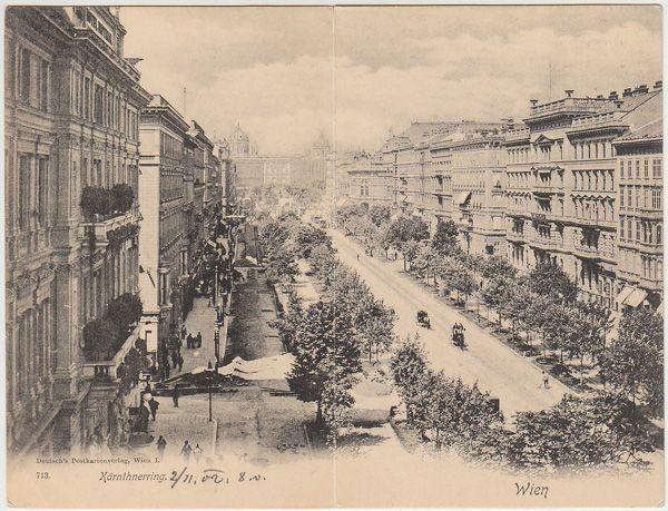 Wien. Kärnthnerring. 1900
