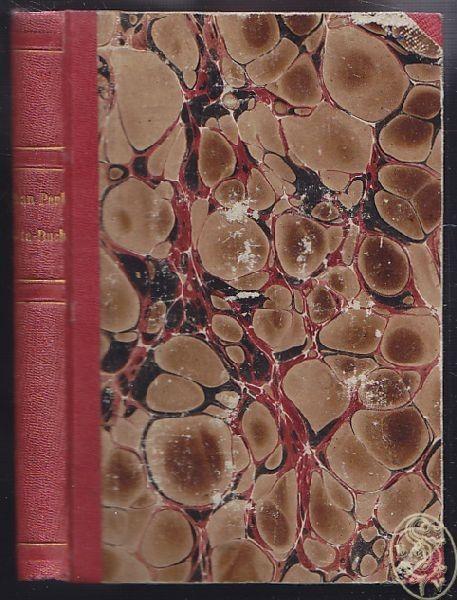 FÖRSTER, Ernst - OTTO, Wahrheit aus Jean Paul's... 1827