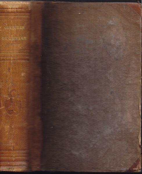 LESAGE, Oeuvres. Le diable boiteux, Gil Blas,... 1840