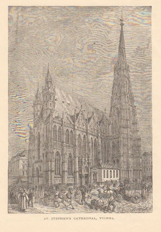 St. Stephen`s Cathedral, Vienna.