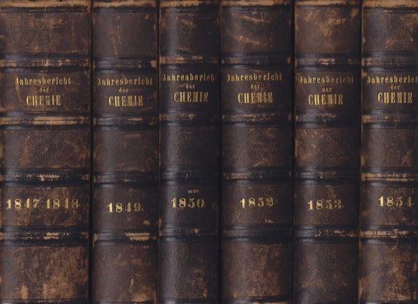 LIEBIG, Jahresbericht über die Fortschritte der... 1849