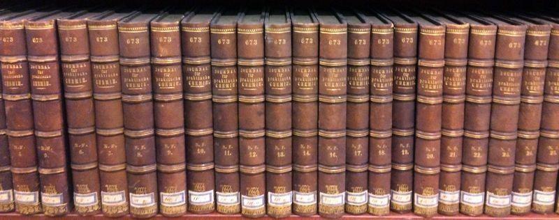 JOURNAL FÜR PRAKTISCHE CHEMIE. Hrsg. v. Otto Linné Erdmann und Gustav Werther.