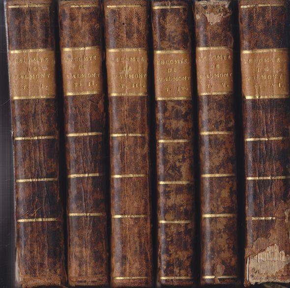 GERARD, Le Comte de Valmot, ou les égaremens de... 1801