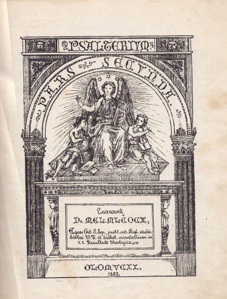 Psalterium seu liber psalmorum. 1887
