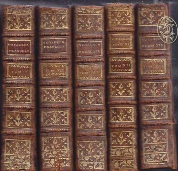 DELAPORTE, LAPORTE, Le Voyageur francois, ou la... 1770