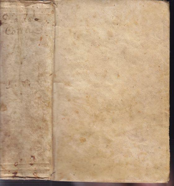 COTTA DA TENDA, Dio inni con annotazioni. Del... 1733