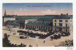 Wien, Westbahnhof, Ankunftseite