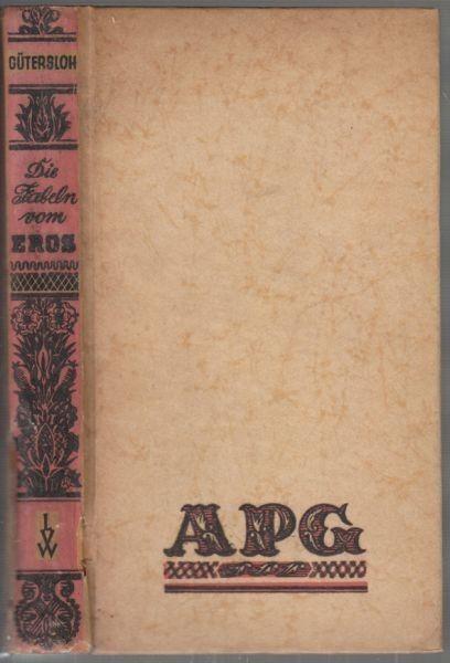 GÜTERSLOH, Die Fabeln vom Eros. 1947 1152-02