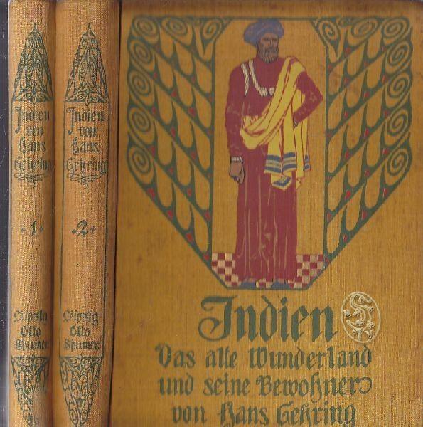 GEHRING, Indien. Das alte Wunderland und seine... 1907