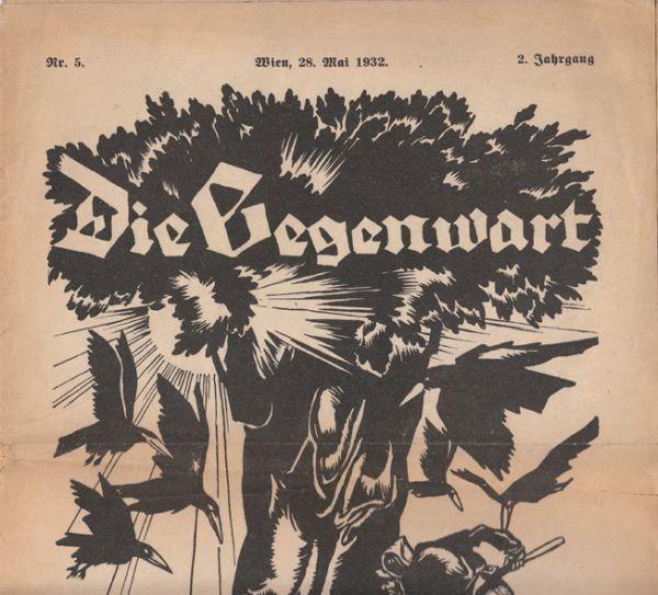 SCHUSTER , Die Gegenwart. 1932