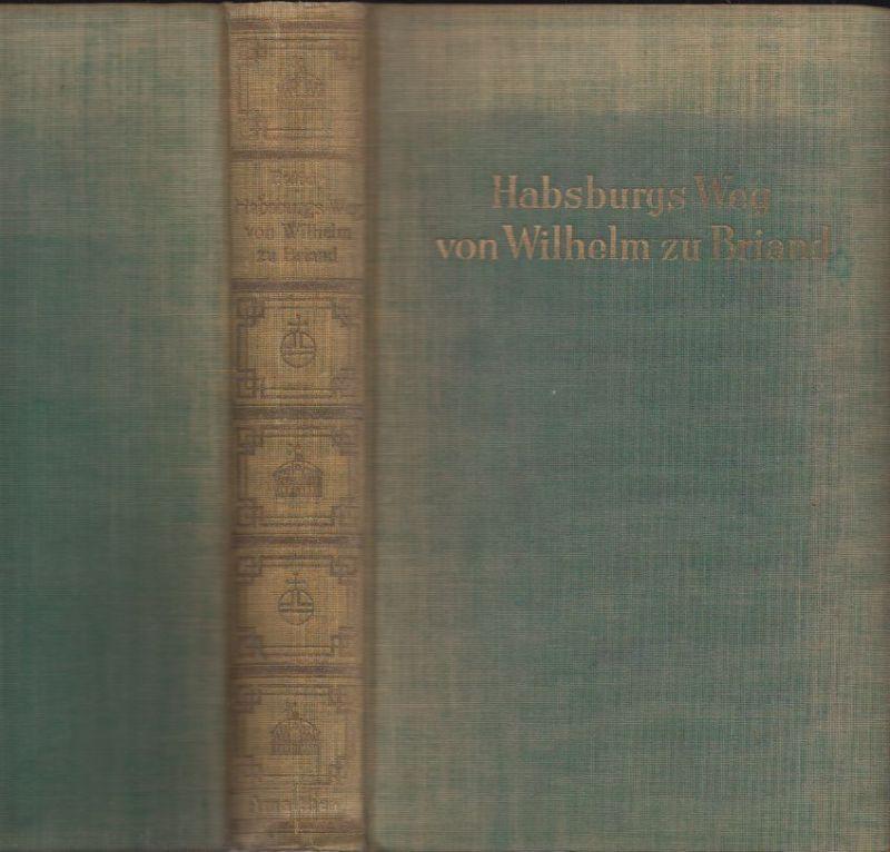 Die Memoiren des Grafen Tamás von Erdödy. Habsburgs Weg von Wilhelm zu Briand. V