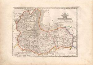 Sopron Vármegye (Comitatus Soproniensis). Iuxta Delineat J. Nep. Hegedüs. Reduxi