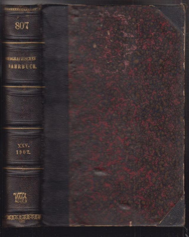 Geographisches Jahrbuch. Begr. 1866 durch E. Behm. Hrsg. v. Hermann Wagner.