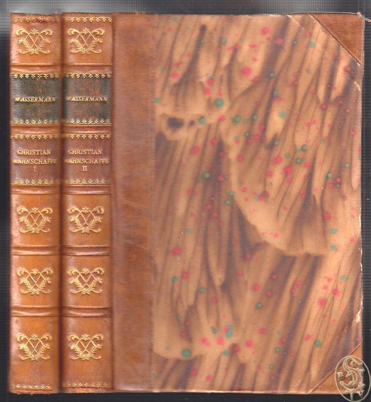 Christian Wahnschaffe. Roman i to bind. Autoriseret Oversaettelse ved Carl Gad.