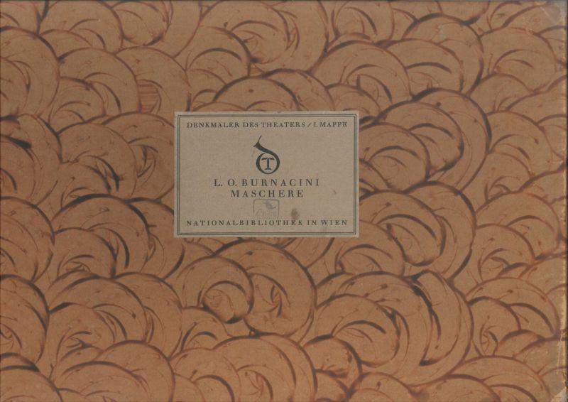 Maschere. Herausgegeben von der Direktion der National-Bibliothek Wien mit Unter