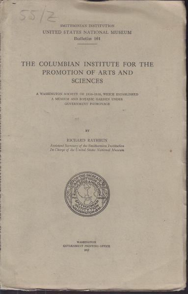 RATHBUN, The Columbian Institute for the... 1917