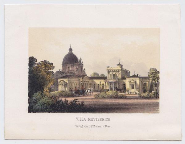 Villa Metternich. 1850