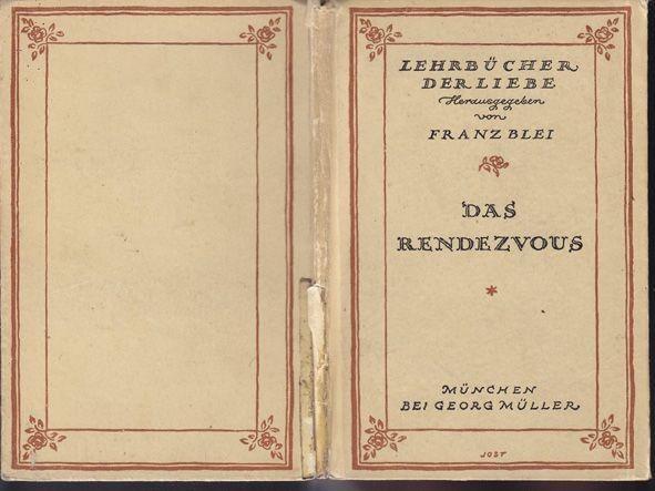 BLEI, Das Rendezvous. 1923