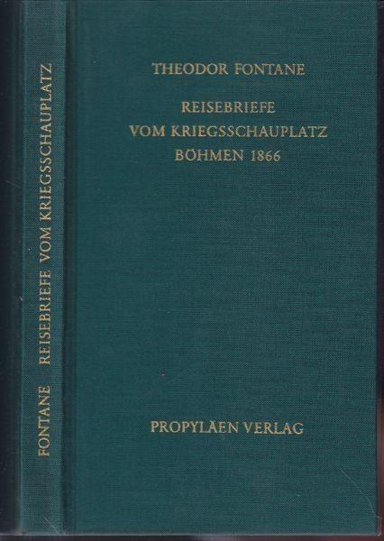FONTANE, Reisebriefe vom Kriegsschauplatz... 1973