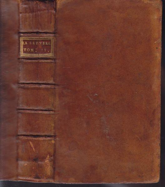 LA BRUYERE Jean de., Les caractères de... 1731