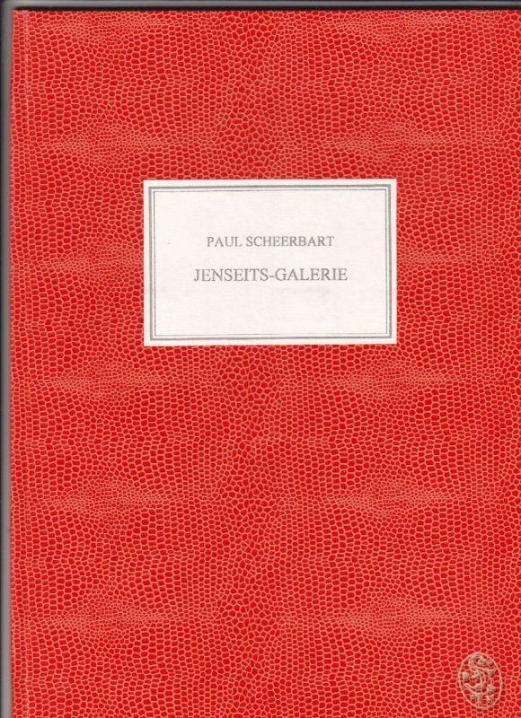 Jenseits-Galerie. Ein Zyklus von zehn Zeichnungen. Herausgegeben von Erich Fitzb