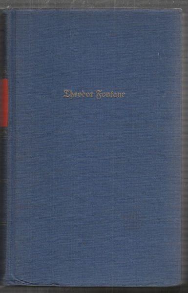 FONTANE, Autobiographische Werke. 1961