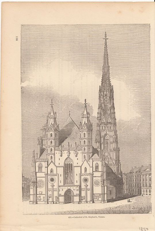 Cathedral of St. Stephen`s, Vienna.