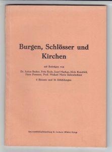 Heimatkundliche Wanderungen. Burgen, Schlösser... 1924