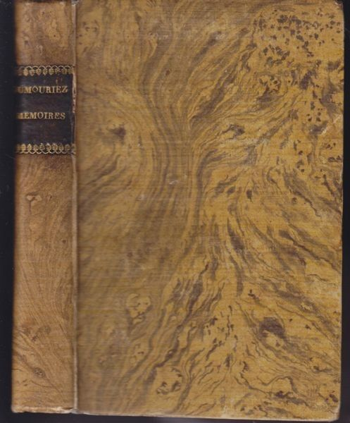 DUMOURIEZ, Charles Du Périer, Mémoires du... 1794