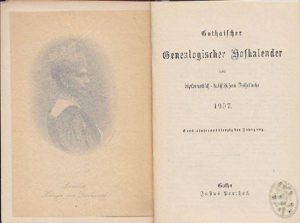 Gothaischer Genealogischer Hofkalender nebst... 1907