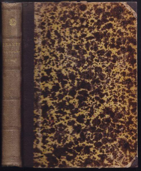 FRANTZ, Geschichte des Kupferstichs. Ein Versuch. 1883