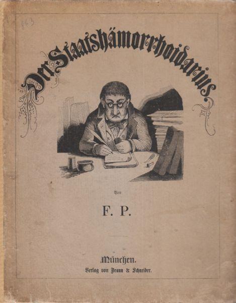 POCCI, Der Staatshämorrhoidarius. 1857