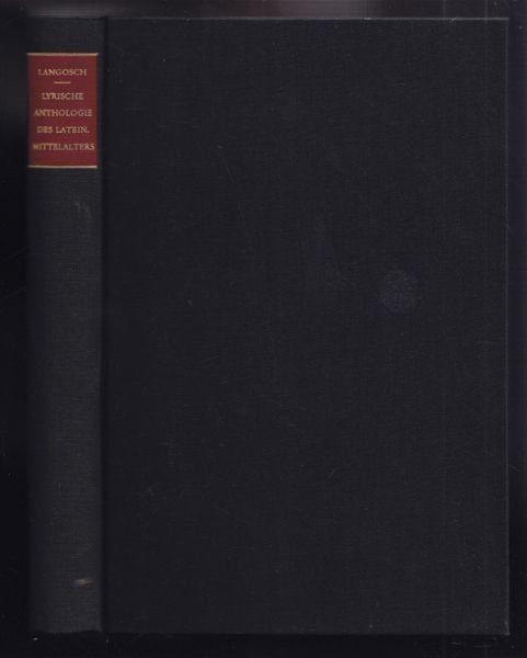 LANGOSCH, Lyrische Anthologie des lateinischen... 1968